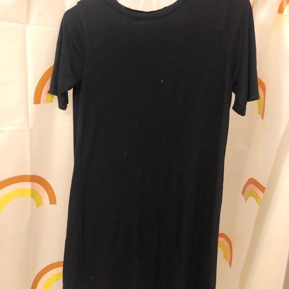 Basic black H&M mini dress